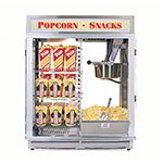 Gold Medal 1617E 120240 Astro 16 Popcorn Machine w/ Reversible Illuminated Sign, 120/240V