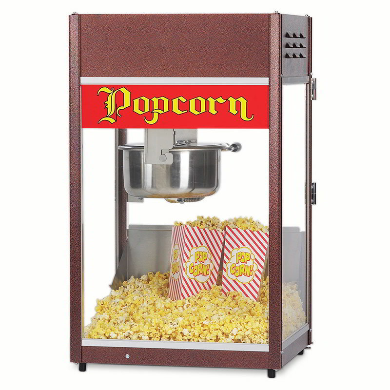 Gold Medal 1866 120240 Ultra P-60 Popper Popcorn Machine w/ 6-oz EZ Kleen Kettle, 120/240V
