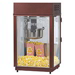 Gold Medal 1871 120208 Heavy Duty Popcorn Machine w/ 6-oz EZ Kleen Kettle & Etched Glass, 120/208V