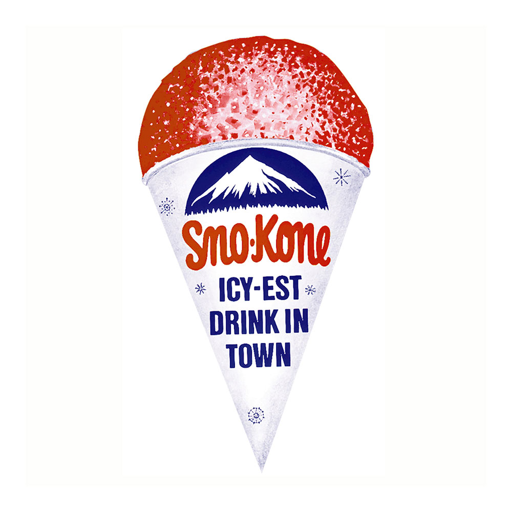 Gold Medal 1999 Cone Shaped Sno Kone Cup Poster