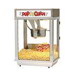 Gold Medal 2003ST 120208 Whiz Bang Popcorn Machine w/ 12-oz Kettle & Stainless Dome, 120/208V