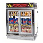 Gold Medal 2004SLD Astro Pop Staging Cabinet w/ Swing & Sliding Doors & 3-Shelf Warmer