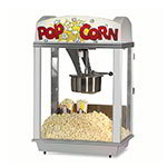 Gold Medal 2005ST 120208 Deluxe Whiz Bang Popcorn Machine w/ 12-oz Kettle & Stainless Dome, 120/208V