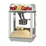 Gold Medal 2005ST 120240 Deluxe Whiz Bang Popcorn Machine w/ 12-oz Kettle & Stainless Dome, 120/240V