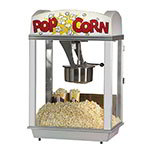 Gold Medal 2007ST 120 Pop-A-Lot Popcorn Machine w/ 8-oz EZ Kleen Kettle & Stainless Dome, 120v