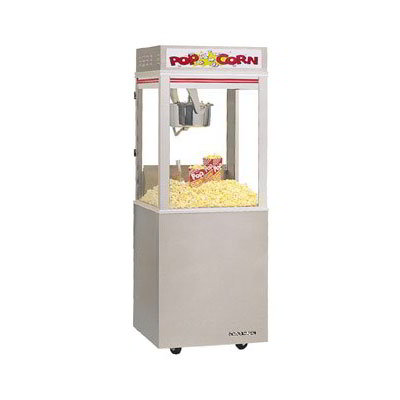 Gold Medal 2022E 120208 Astro Pop 16 Popcorn Machine w/ 16-oz Unimaxx Kettle & Stainless Dome, 120/208V
