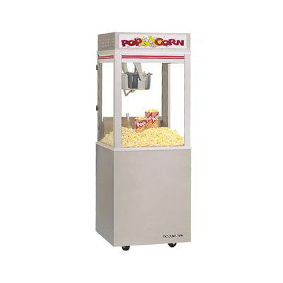 Gold Medal 2022E 120240 Astro Pop 16 Popcorn Machine w/ 16-oz Unimaxx Kettle & Stainless Dome, 120/240V