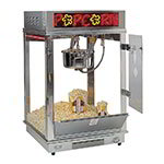 Gold Medal 2023E 120240 Popcorn Machine w/ 16-oz Kettle, Stainless Dome, 120/240 V