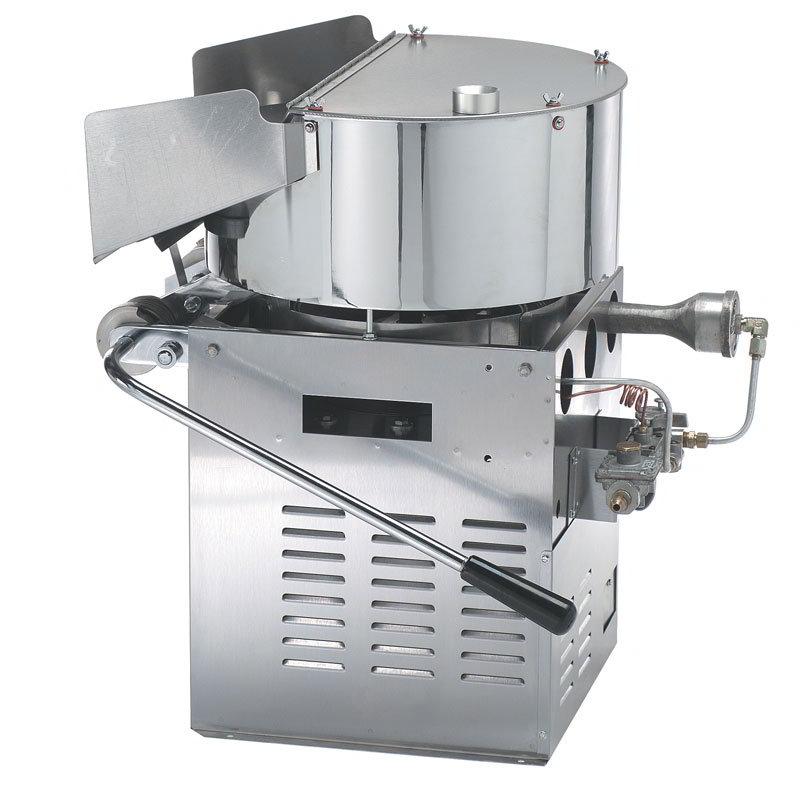 Gold Medal 2033BG Jumbo 360 Heavy Duty Popcorn Machine w/ 3-Min Popping Cycles & LP Gas Fired, 115v