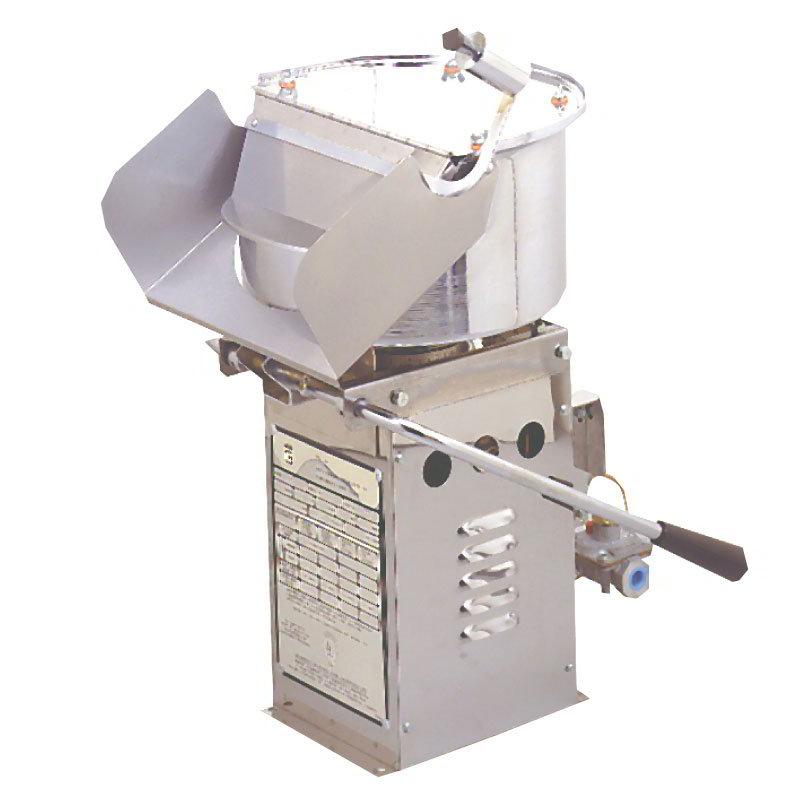 Gold Medal 2035BG Mighty Mite Popcorn Machine w/ (20) 16-oz/hr Capacity & Bottled Gas, 115v