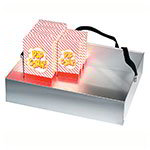 Gold Medal 2048 Grandstand Corn Vending Tray w/ 40-Box Capacity & Strap