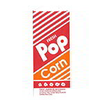 Gold Medal 2053 1-oz Disposable Popcorn Bags, 1,000/Case
