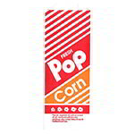 Gold Medal 2054 1.1-oz Disposable Popcorn Bags, 1,000/Case