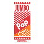 Gold Medal 2055 2-oz Disposable Popcorn Jumbo Bags, 2,000/Case