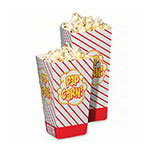 Gold Medal 2058 1.75-oz Large Scoop Disposable Popcorn Boxes, 500/Case