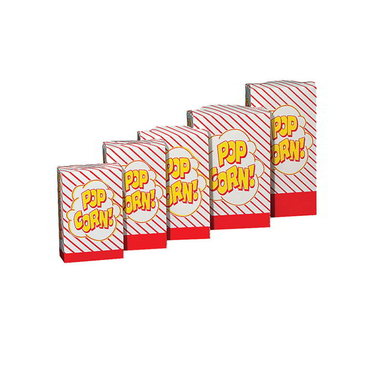 Gold Medal 2063 1 to 1.75-oz Disposable Popcorn Boxes, 500/Case