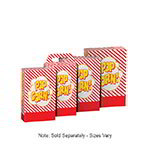 Gold Medal 2068 3.5 to 4-oz Disposable Popcorn Boxes, 250/Case