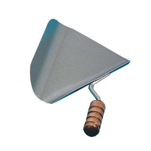 Gold Medal 2073 Right Hand Jet Scoop, Aluminum