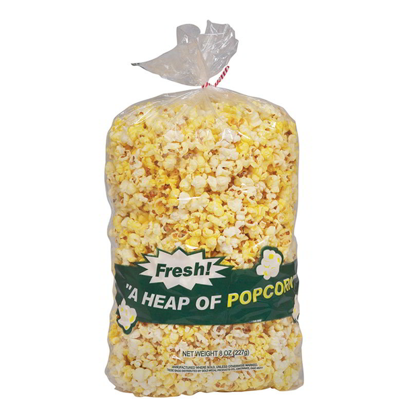 Gold Medal 2079 Disposable Heap-O-Popcorn Bags, 1,000/Case