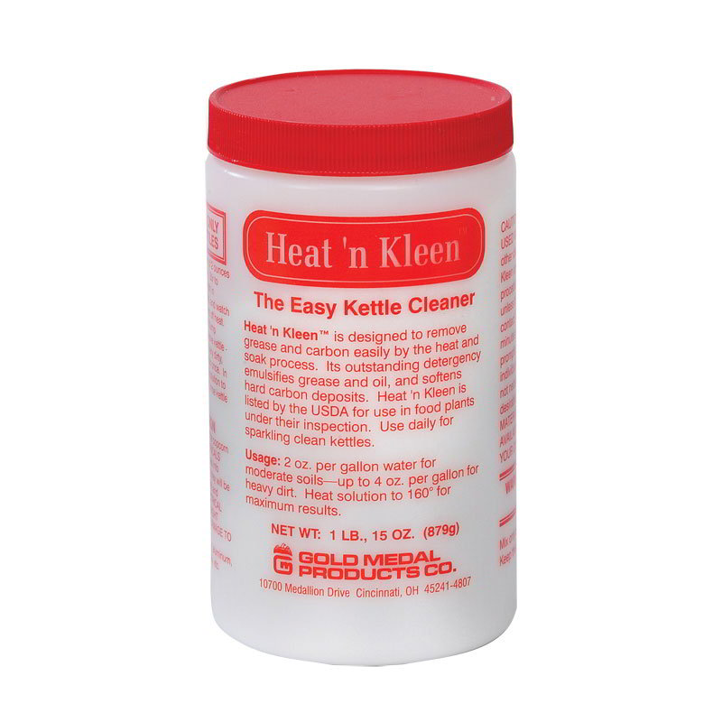 Gold Medal 2095MC Heat N Kleen Cleaner, (12)31-oz/Case