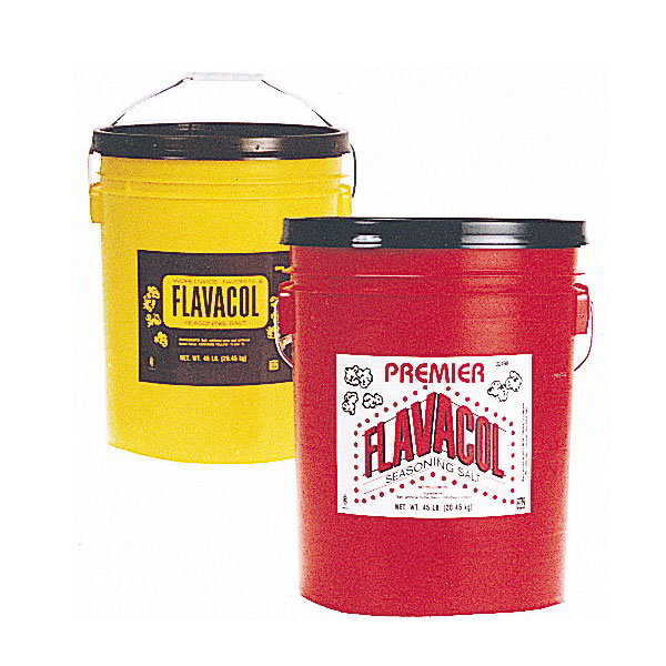 Gold Medal 2099 45-lb Original Flavacol Seasoning Salt Pail