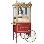 Gold Medal 2119 120240 Antique Citation Popcorn Machine w/ 16-oz Kettle & Gold Dome, 120/240V