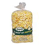 "Gold Medal 2125 18"" Disposable Heap O Popcorn Bags w/ 3-oz Capacity, 1,000/Case"