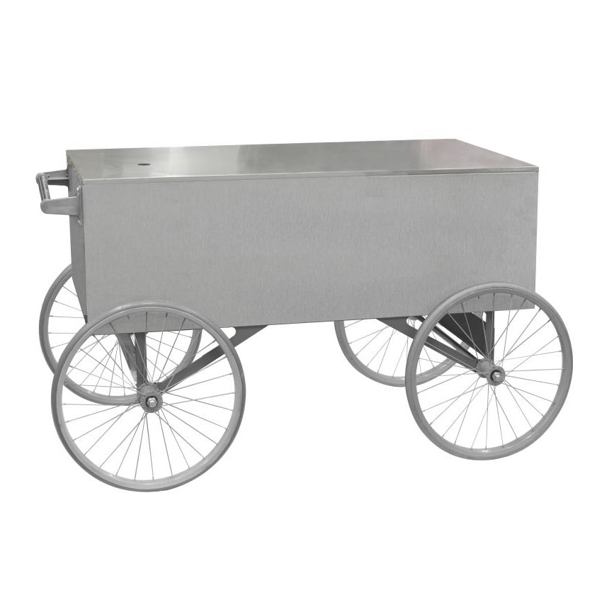 Gold Medal 2129ST Gay 90s Whiz Bang Wagon, Stainless, White