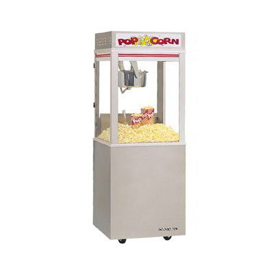 Gold Medal 2130SS Cabinet Model Popcorn Machine, Stainless Base