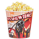 Gold Medal 2133T 44-oz Showtime Design Disposable Popcorn Butter Cups, 600/Case