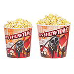 Gold Medal 2134T 85-oz Showtime Design Disposable Popcorn Butter Cups, 300/Case
