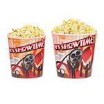 Gold Medal 2164T 64-oz Showtime Design Disposable Popcorn Cup, 360/Case