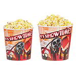 Gold Medal 2170T 170-oz Showtime Design Disposable Popcorn Butter Tubs, 100/Case