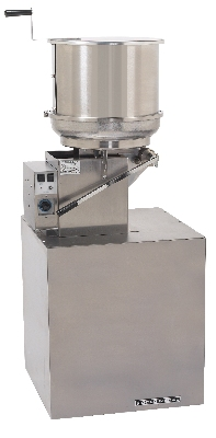 Gold Medal 2174EL 120240 Corn Treat Jr. Cooker Mixer w/ Left Hand Dump & Pedestal, 120/240V