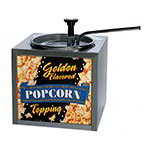 Gold Medal 2195 Buttery Topping Dispenser w/ 133-oz Capacity & Push Top Adjustable Pump