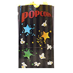 Gold Medal 2232B 130-oz Funburst Design Disposable Popcorn Bags, Laminated, 500/Case