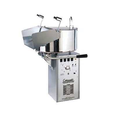 Gold Medal 2258EC 120208 Compact Cornado Popping Unit w/ 10-gal/3-min Capacity & Right Hand Dump, 120/208v