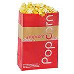 Gold Medal 2259E 32-oz EcoSelect Natural Fiber Paper Disposable Popcorn Bags, 1,000/Case