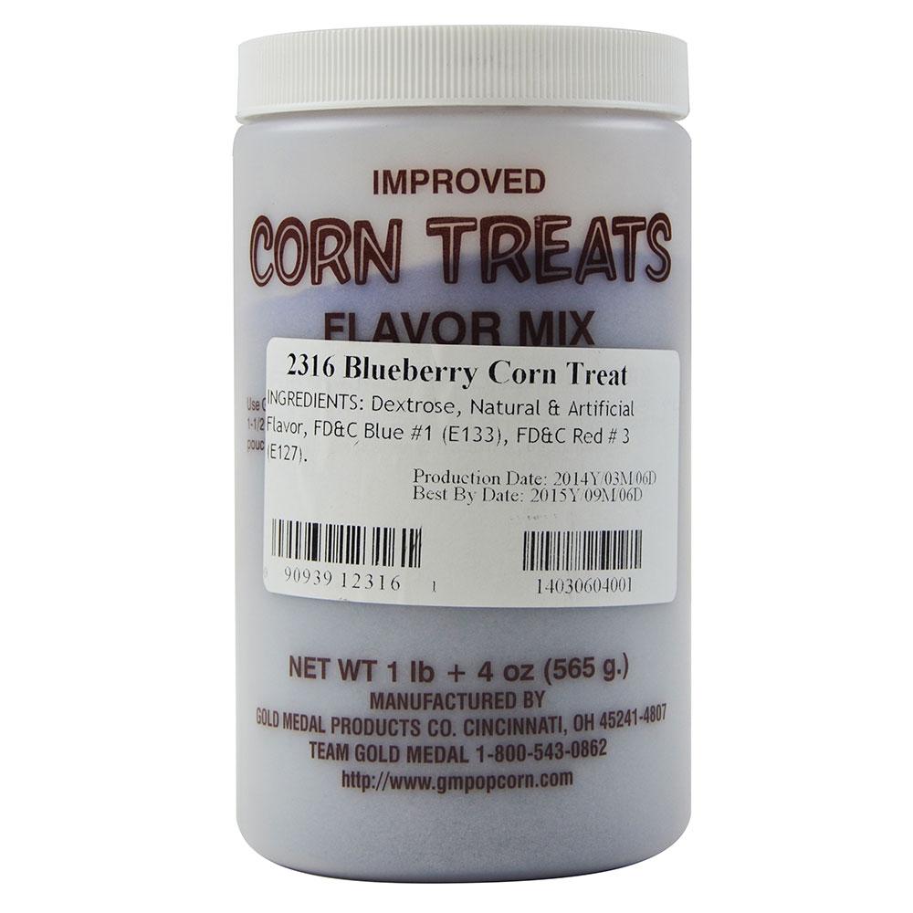 Gold Medal 2316 Candy Glaze Corn Treat Flavor Mixes, Blueberry