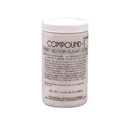 Gold Medal 2320MC Pro Strength Compound S, (12)24-oz Jars/Case