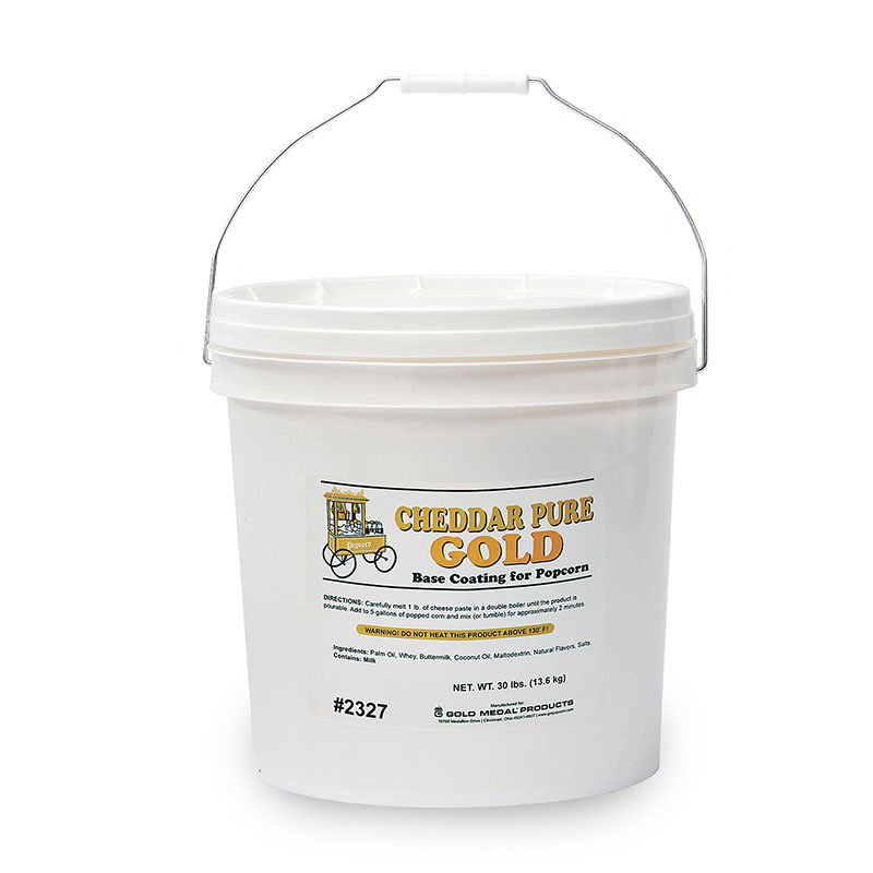 Gold Medal 2327 Cheddar Cheese Corn Paste Mix - 30-lb Tub