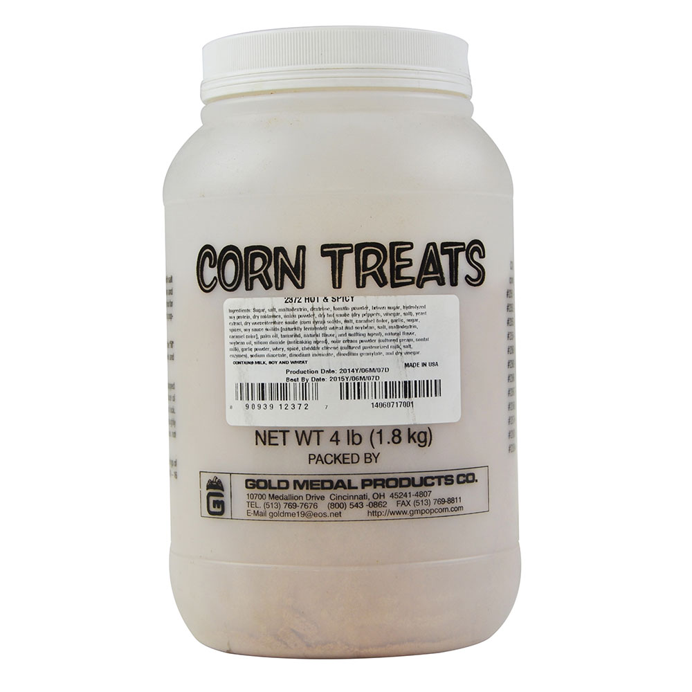 Gold Medal 2372 4-lb Shake-On Hot & Spicy Flavor