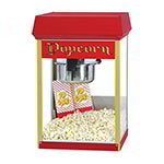 Gold Medal 2408 FunPop Popcorn Machine w/ 8-oz EZ Kleen Kettle & Red Dome, 120v