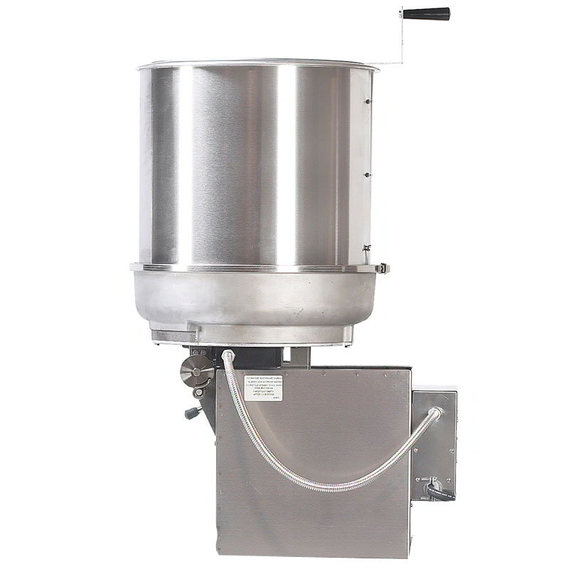 Gold Medal 2411E 120208 MARK-10 Cooker Mixer w/ Right Hand Dump & 40-lbs/hr Capacity, 120/208V