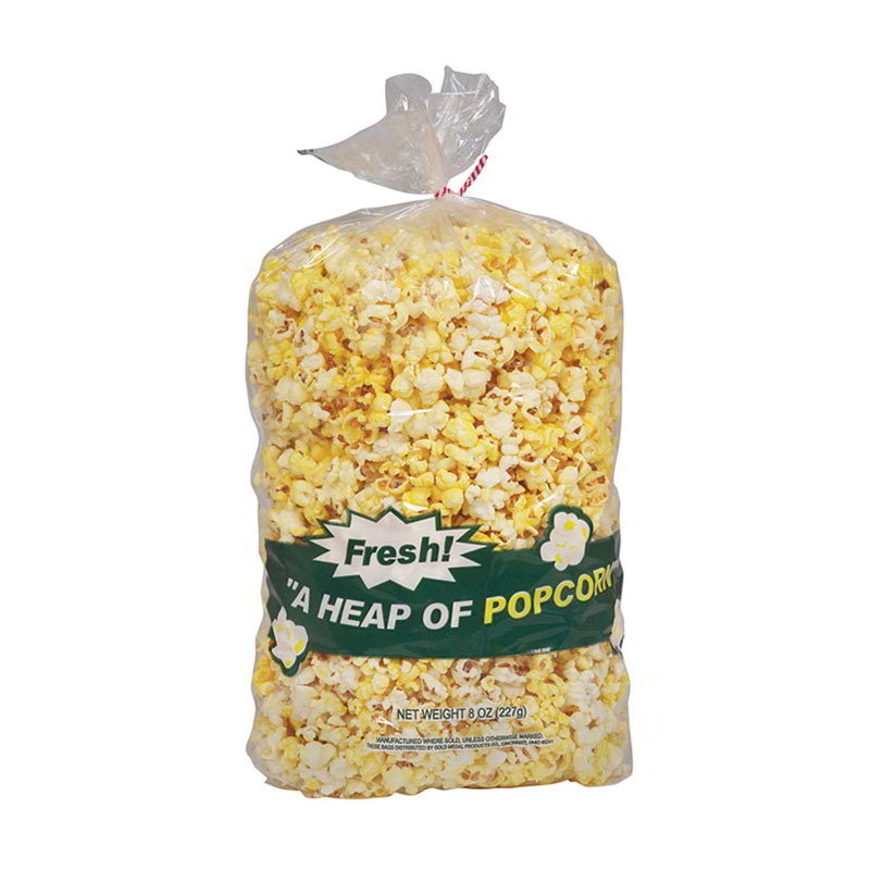Gold Medal 2455 8-oz Disposable Heap-O-Popcorn Bags, 500/Case