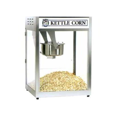 Gold Medal 2553 120208 Popcorn Machine, 16/18-oz EZ Kleen Kettle, Oil Pre-Wired, 120/208V