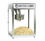 Gold Medal 2553BC 120208 Popcorn Machine, 16-oz EZ Kleen Kettle, Stainless Cabinet, 120/208V