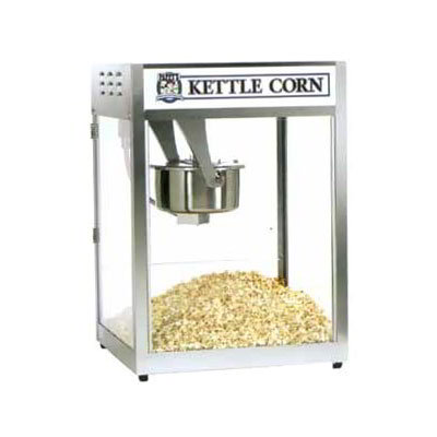 Gold Medal 2554BC 120240 Back Counter Popcorn Machine, 16/18-oz EZ Kleen Kettle, 120/240 V
