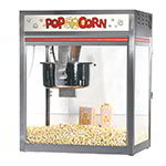 Gold Medal 2563 120240 32-oz Discovery Popcorn Popper w/ Oil Delivery System, Front Counter, 120/240V