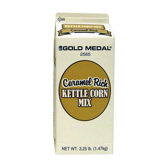 Gold Medal 2567 4-oz Caramel Rich Kettle Corn Mix, 48/Case
